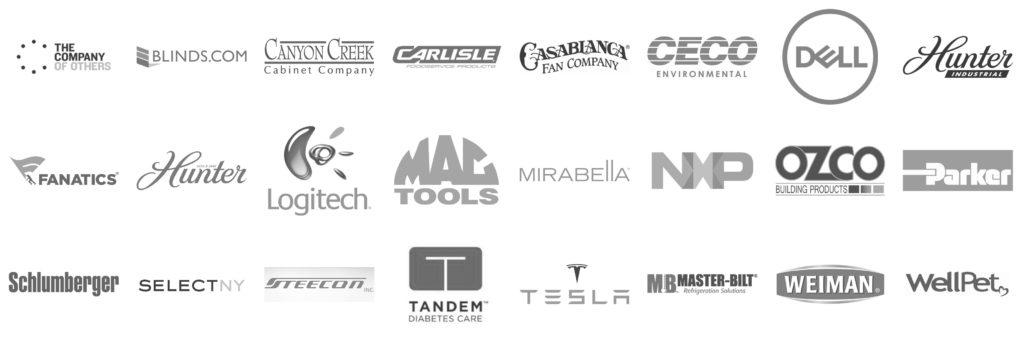 DIG 3D Partner Logos