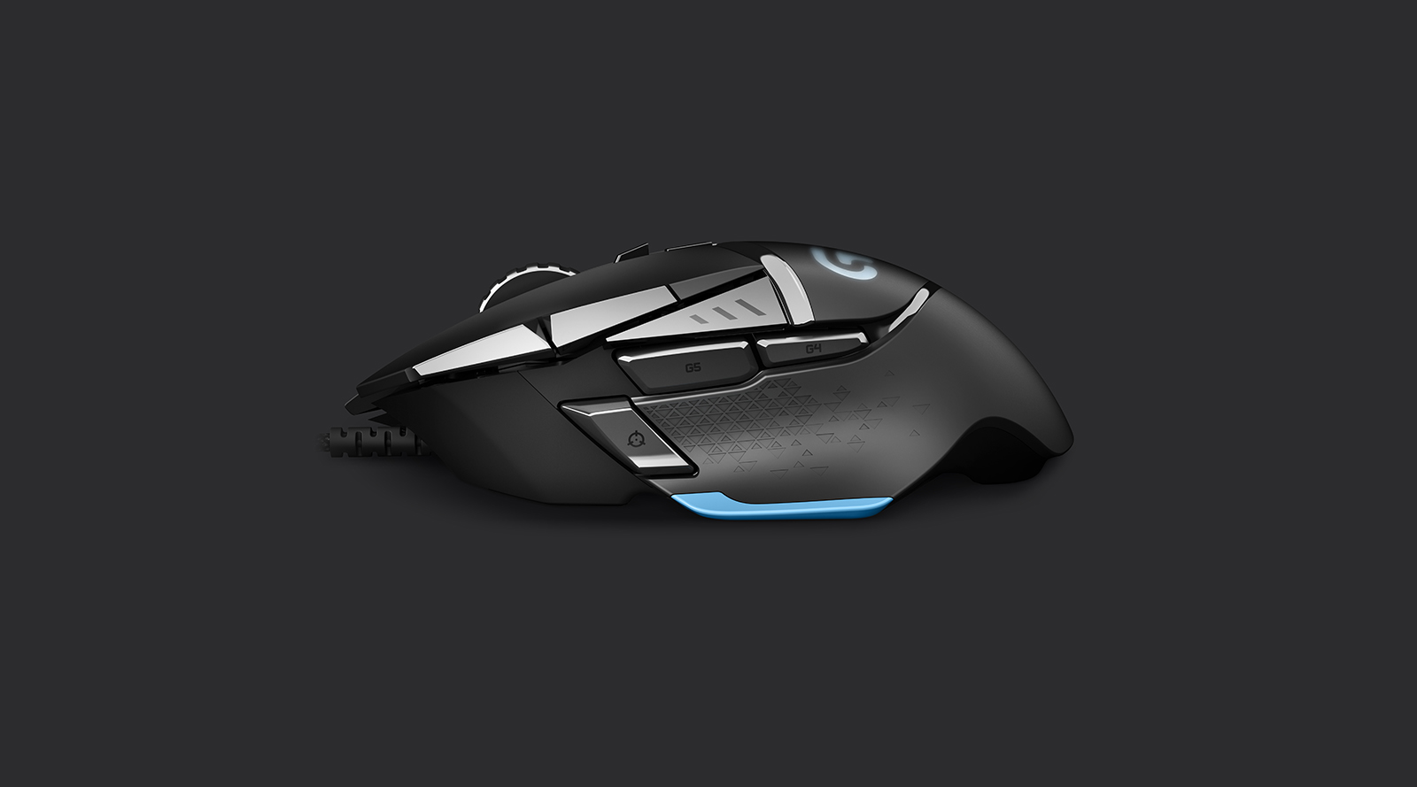3D Product Modeling-Logitech Proteus Gaming Mouse- Produced by Digital Imaging Group LLC